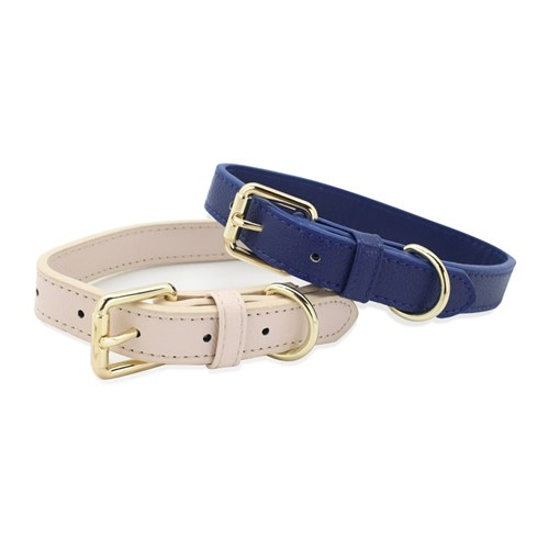 DOG COLLAR LEATHERETTE