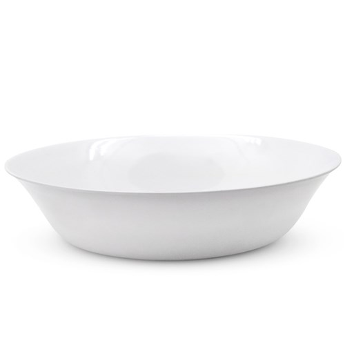 MELAMINE SALAD BOWL SHALLOW