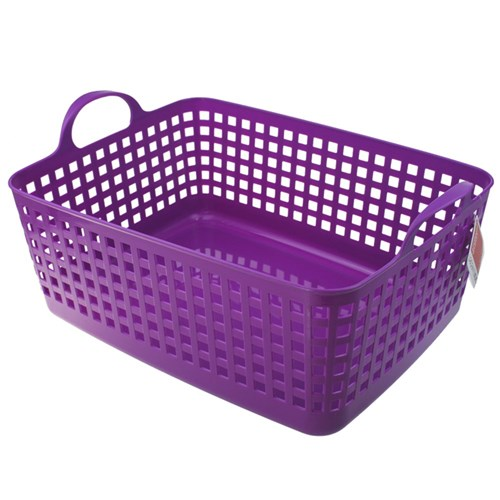BASKET WITH HANDLES XL