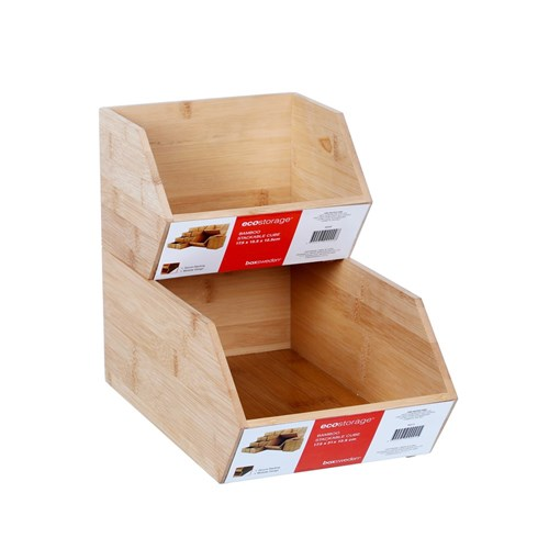 BAMBOO STACKABLE CUBE
