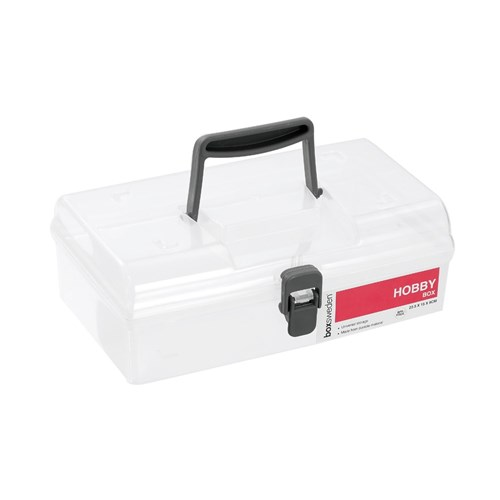HOBBY STORAGE BOX WITH HANDLE